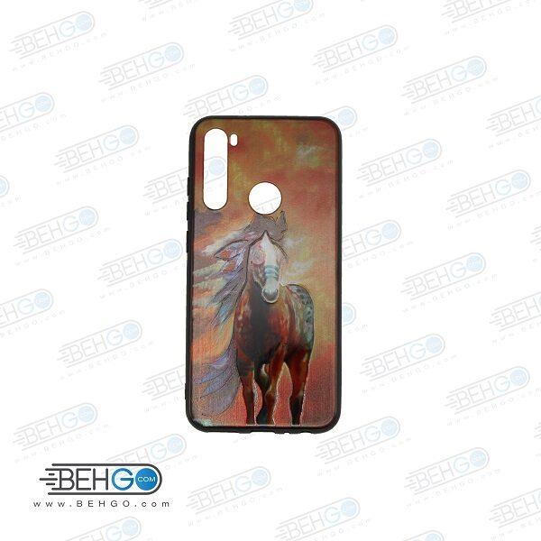 قاب note 8 کاور شیائومی note 8 قاب فانتزی گوشی شیائومی note8 با عکس اسب قرمز طرح 19 محافظ مناسب نوت 8 گوشی موبایل شیائومی New Red Horse Phone Case For xiaomi redmi note 8
