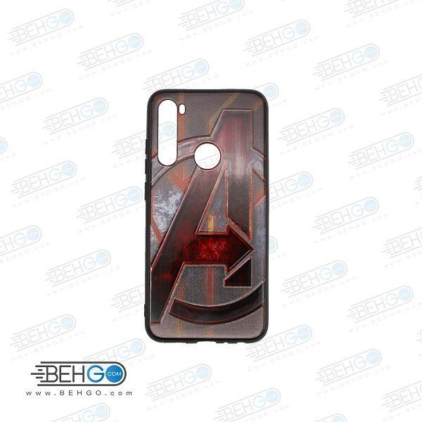 قاب note 8 کاور شیائومی note 8 قاب فانتزی گوشی شیائومی note8 با عکس انتقام جویان طرح 23 محافظ مناسب نوت 8 گوشی موبایل شیائومی New Avengers Phone Case For xiaomi redmi note 8