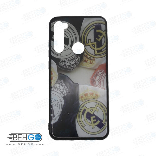 قاب note 8t کاور شیائومی note 8t قاب فانتزی گوشی شیائومی note8 t با عکس رئال مادرید طرح 3 محافظ مناسب نوت 8 تی گوشی موبایل شیائومی New Real Madrid Phone Case For xiaomi redmi note 8t