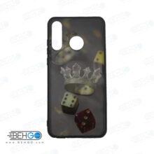 قاب p30 lite کاور هواوی پی سی لایت قاب فانتزی گوشی هواوی پی 30 لایت با عکس تاج و تاس طرح 13 محافظ مناسب p 30 lite گوشی موبایل هواوی New Crown and Dice Phone Case For Huawei p30 lite /p30lite