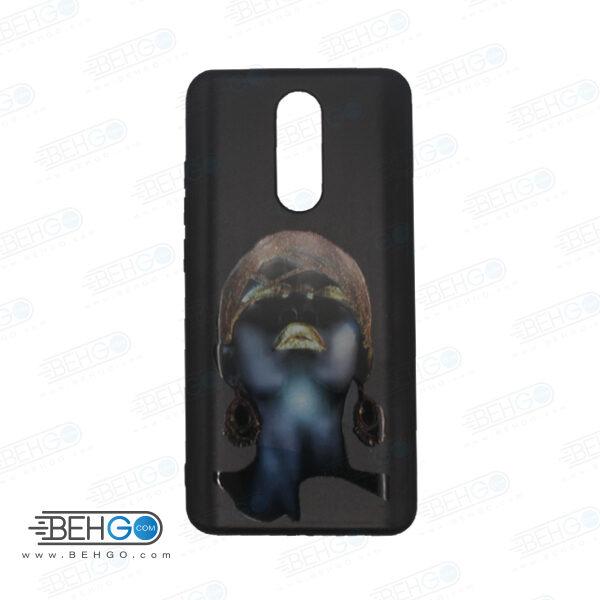 قاب redmi 8 کاور شیائومی redmi 8 قاب فانتزی گوشی شیائومی redmi 8 با عکس دختر سیاه پوست طرح 5 محافظ مناسب ردمی 8 گوشی موبایل شیائومی New Black Girl Phone Case For xiaomi redmi 8