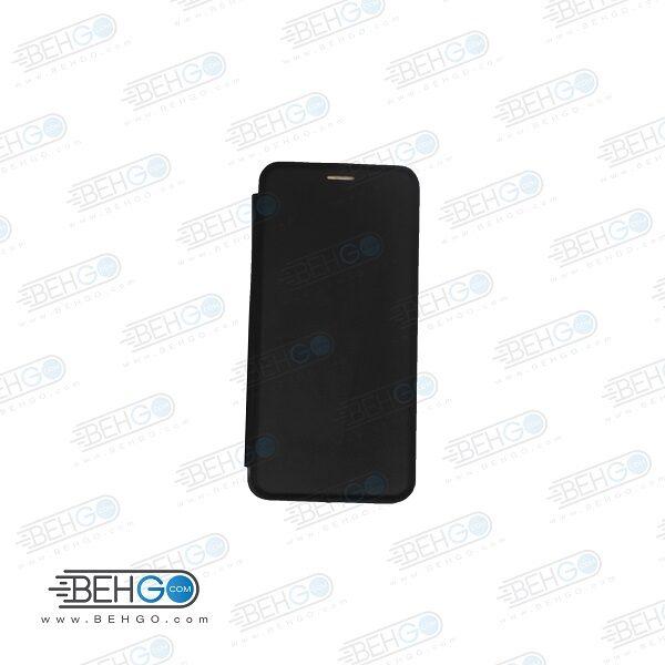 کیف گوشی هواوی Y9 Prime 2019 قاب Y9 Prime و انر 9 ایکس کاور هواوی وای نه پرایم مدل کلاسوری Y9Prime چرمی کیف گوشی شیاومی Leather Flip Cover For Huawei Honor 9X / Y9 Prime 2019