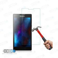 گلس تبلت lenovo Tab2 A7 بی رنگ و شفاف یا محافظ صفحه نمایش شیشه ای تبلت Glass Screen Protector Lenovo a7-30 Tab2 a7