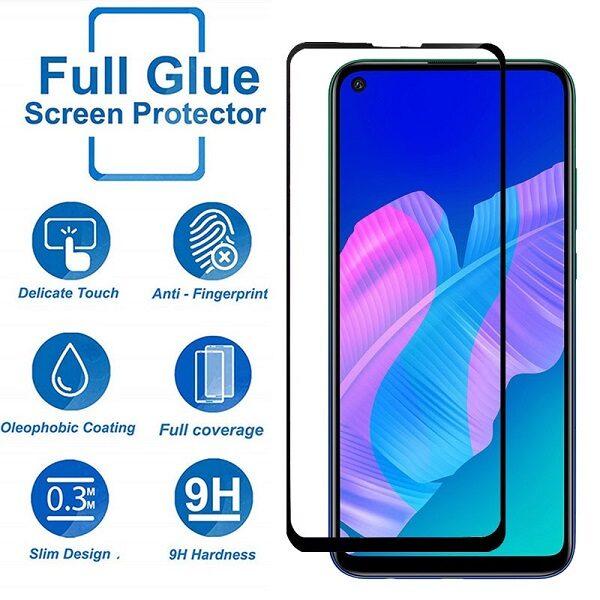 گلس وای 7 پی 2020 هواوی فول مخصوص گوشی هواوی Huawei Y7p 2020 محافظ صفحه نمایش شیشه ای Glass Screen Protector For Huawei Y7p