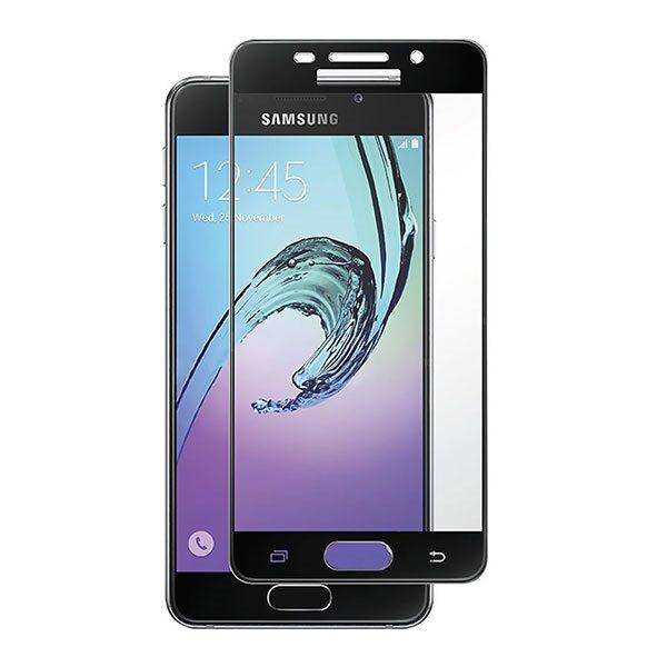 گلس A5 2016 مناسب A510 گلس آ پنج دوهزاروشانزد محافظ صفحه نمایش تمام چسب برای گوشی سامسونگ Full Tempered Glass Mobile Phone Screen Protectors for SAMSUNG A510