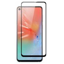 گلس A60 سامسونگ ای 60 محافظ صفحه نمایش شیشه ای A60 تمام چسب گلس گوشی سامسونگ Full Glass For Samsung Galaxy A60