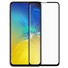 گلس S10E سامسونگ اس 10 ای محافظ صفحه نمایش شیشه ای S10E تمام چسب گلس S10E سامسونگ Full Glass For Samsung Galaxy S10E
