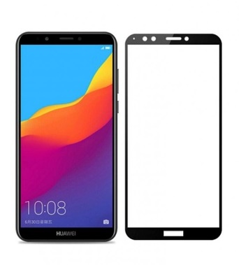 گلس Y6 2018 و Honor 7A مناسب وای 6 2018 و  Honor7A گلس محافظ صفحه نمایش تمام چسب برای گوشی هواوی Full Tempered Glass Mobile Phone Screen Protectors for Huawei Y6 2018 / Honor 7A