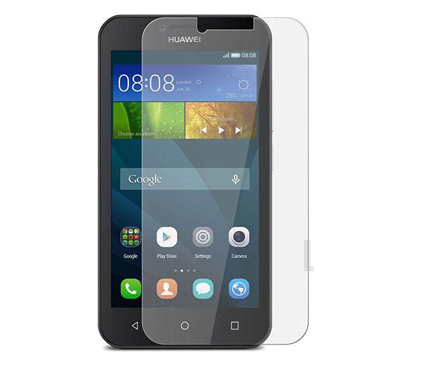 گلس y560 بی رنگ و شفاف هواوی وای 5 محافظ صفحه نمایش شیشه ای Clear Glass for Huawei Y560