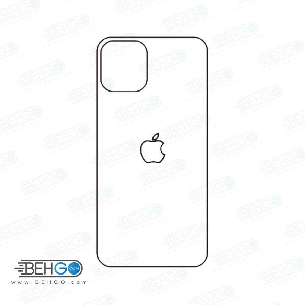برچسب پشت آیفون 11 پرو محافظ پشت رنگی و اکلیلی گوشی Apple iphone 11 Pro Back Protector