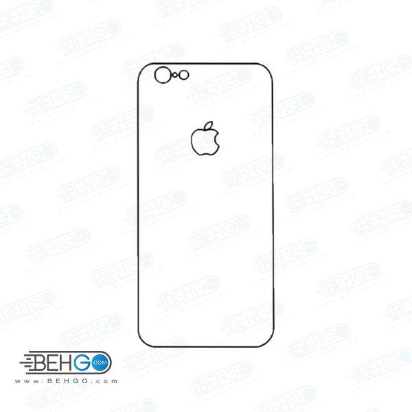 برچسب پشت آیفون 6 و 6 اس محافظ پشت رنگی و اکلیلی گوشی Apple iphone 6/6s Back Protector