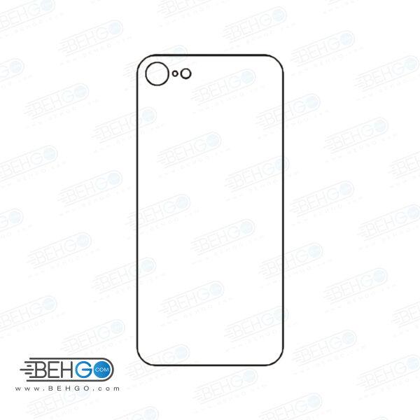 برچسب پشت آیفون 7 محافظ پشت رنگی و اکلیلی گوشی Apple iphone 7 Back Protector