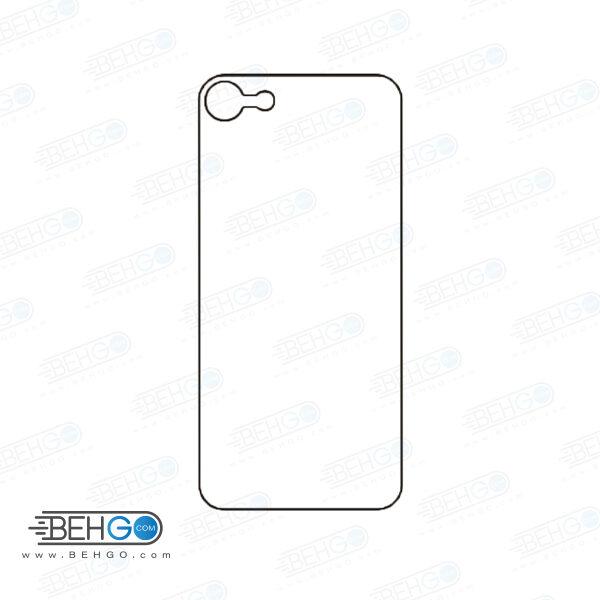 برچسب پشت آیفون 8 محافظ پشت رنگی و اکلیلی گوشی Apple iphone 8 Back Protector