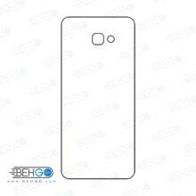 برچسب پشت جی 4 پلاس سامسونگ محافظ پشت رنگی و اکلیلی گوشی Samsung Galaxy J4 Plus Back Protector