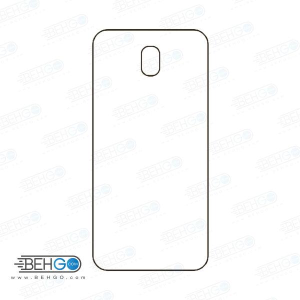 برچسب پشت جی 7 پرو سامسونگ محافظ پشت رنگی و اکلیلی گوشی Samsung Galaxy J7 pro 2017 Back Protector