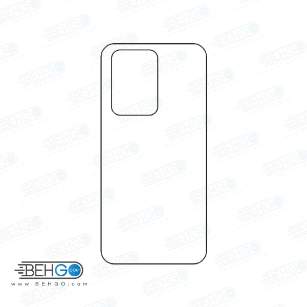 برچسب پشت سامسونگ گلکسی اس 20 اولترا محافظ پشت رنگی و اکلیلی گوشی Samsung Galaxy S20 Ultra Back Protector
