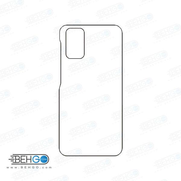 برچسب پشت سامسونگ گلکسی اس 20 پلاس محافظ پشت رنگی و اکلیلی گوشی Samsung Galaxy S20 Plus Back Protector