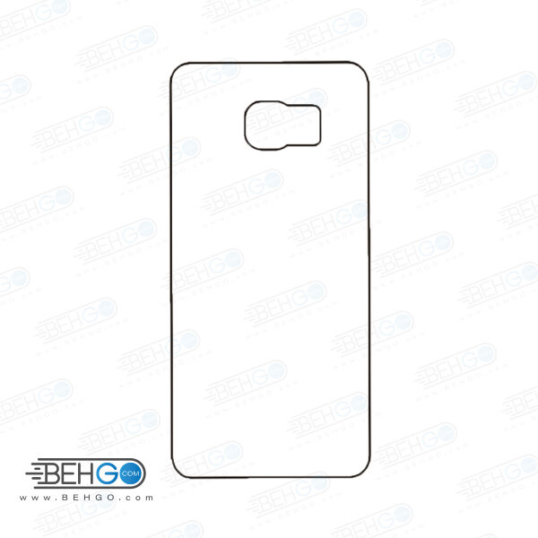 برچسب پشت سامسونگ گلکسی اس 6 اج پلاس محافظ پشت رنگی و اکلیلی گوشی Samsung Galaxy S6 edge plus Back Protector