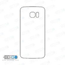 برچسب پشت سامسونگ گلکسی اس 7 اج محافظ پشت رنگی و اکلیلی گوشی Samsung Galaxy S7 edge Back Protector