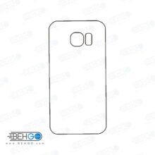 برچسب پشت سامسونگ گلکسی اس 6 محافظ پشت رنگی و اکلیلی گوشی Samsung Galaxy S6 Back Protector