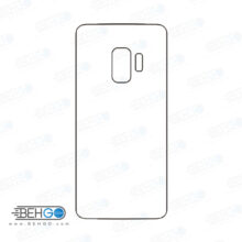 برچسب پشت سامسونگ گلکسی اس 9 محافظ پشت رنگی و اکلیلی گوشی Samsung Galaxy S9 Back Protector