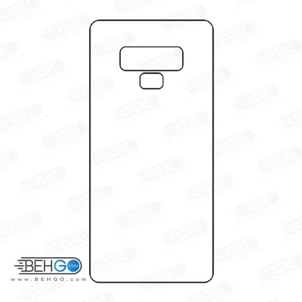 برچسب پشت نوت 9 سامسونگ محافظ پشت رنگی و اکلیلی گوشی Samsung Galaxy Note 9 Back Protector