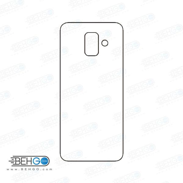 برچسب پشت a6 2018 سامسونگ محافظ پشت رنگی و اکلیلی گوشی Samsung Galaxy A6 2018 Back Protector