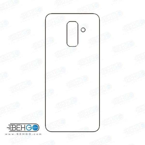 برچسب پشت a6 plus 2018 سامسونگ محافظ پشت رنگی و اکلیلی گوشی Samsung Galaxy A6 plus 2018 Back Protector