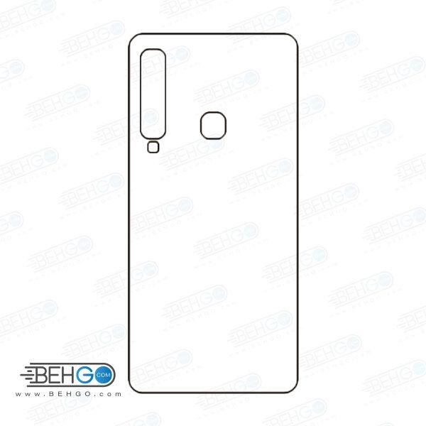 برچسب پشت a9 2018 سامسونگ محافظ پشت رنگی و اکلیلی گوشی Samsung Galaxy A9 2018 Back Protector