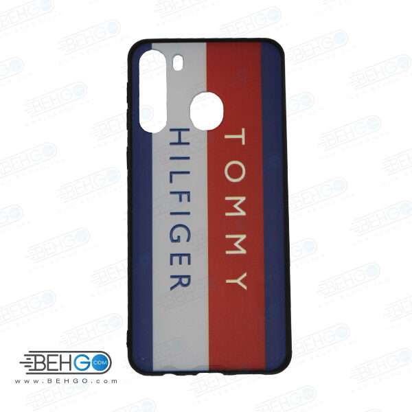 قاب گوشی سامسونگ A21 کاور سامسونگ A21 قاب A21 با عکس تامی هیلفیگر کد 6 محافظ ا21 گوشی موبایل سامسونگ Code 10 Tommy Hilfiger Phone Case For Samsung A21