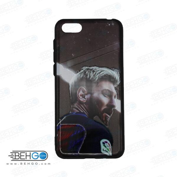 قاب گوشی هواوی وای 5 لایت و Y5 prime 2018 کاور هواوی Honor 7S قاب فانتزی گوشی هواوی وای 5 2018 با عکس مسی طرح 17 محافظ گوشی موبایل هواوی New Messi Phone Case For Huawei Y5 prime 2018/honor 7S /Y5 Lite