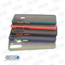 قاب A21 کاور محافظ ا21 گارد مدل پشت مات اصلی دور سیلیکونی گوشی سامسونگ Matte Case For Samsung A21
