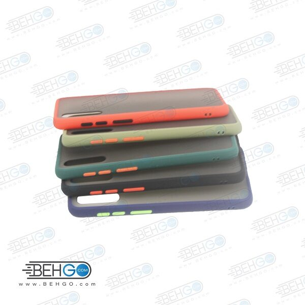 قاب A30s و A50s و A50 کاور محافظ آ سی اس گارد مدل پشت مات اصلی دور سیلیکونی گوشی سامسونگ Matte Case For Samsung A30s/A50s/A50