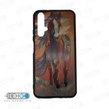 قاب Nova 5T کاور هواوی نوا 5تی قاب نوا 5 تی با عکس اسب قرمز طرح 19 محافظ مناسب گوشی موبایل هواوی New Red Horse Phone Case For Huawei Nova5t / Nova 5T