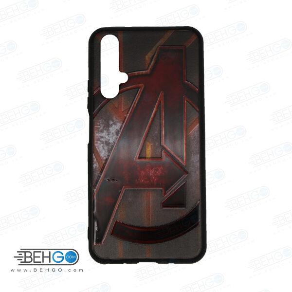 قاب Nova 5T کاور هواوی نوا 5تی قاب نوا 5 تی با عکس انتقام جویان طرح 23 محافظ مناسب گوشی موبایل هواوی New Avengers Phone Case For Huawei Nova5t / Nova 5T