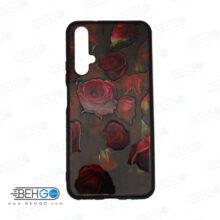 قاب Nova 5T کاور هواوی نوا 5تی قاب نوا 5 تی با عکس گل سرخ طرح 21 محافظ مناسب گوشی موبایل هواوی New Red Flowers Phone Case For Huawei Nova5t / Nova 5T