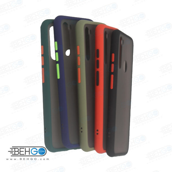 قاب Redmi Note 8t کاور محافظ نوت 8 تی گارد مدل پشت مات اصلی دور سیلیکونی گوشی شیائومی Matte Case For Xiaomi Redmi Note8t