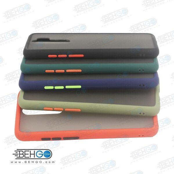 قاب Redmi Note 8 Pro کاور محافظ نوت 8 پرو گارد مدل پشت مات اصلی دور سیلیکونی گوشی شیائومی Matte Case For Xiaomi Redmi Note8 Pro