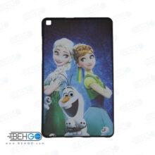 قاب T295 کاور مدل طرح دار دخترانه کد 13 مشکی تبلت سامسونگ تی 295 گلکسی مناسب سامسونگ Cover For Samsung Galaxy Tab A 8.0 2019 LTE SM-T295