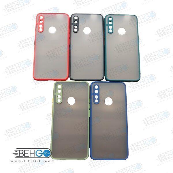قاب Y9 prime کاور هواوی محافظ دور سیلیکون رنگی کاور پشت مات با برجستگی لنز دوربین هواوی وای نه Fashion Case Huawei Y9 Prime 2019