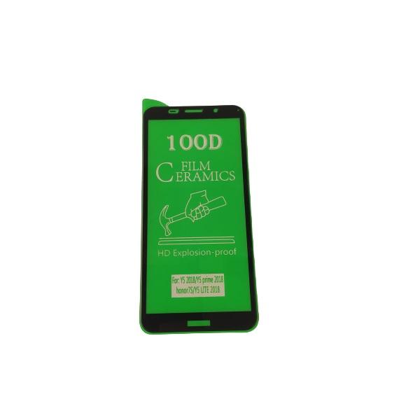 گلس y5 2018 با پوشش کامل محافظ سرامیکی اصلی هواوی وای پنج 2018 نانو آنر 7اس گلس انعطاف پذیر نشکن هواوی honor 7s با چسب کامل محافظ صفحه نمایش نانو سرامیکی هواوی Original Nano Flexible Ceramic Full Coverage Screen Protector with Full Glue Anti Broken For Huawei Y5 2018 / honor 7sلذ