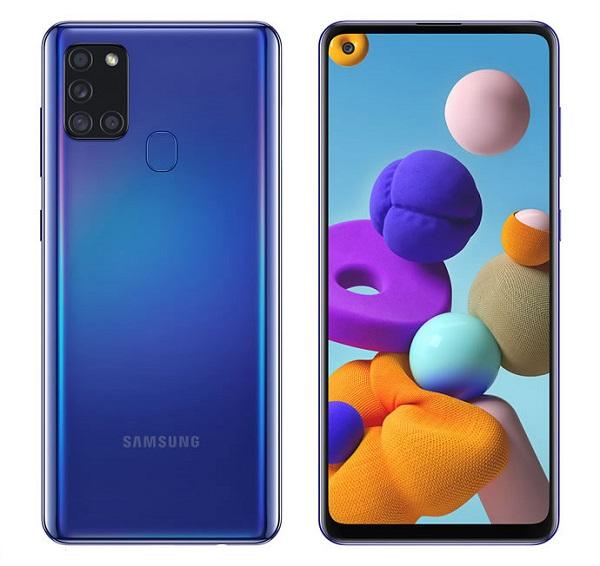 گوشی موبایل سامسونگ مدل Galaxy A21S SM-A217F/DS دو سیمکارت ظرفیت 64 رم 4