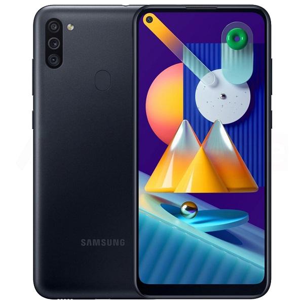گوشی موبایل سامسونگ مدل Galaxy M11 SM-M115F/DS دو سیم کارت ظرفیت 32 گیگابایت رم 3 مشکی