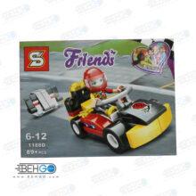 اسباب بازی فکری لگو ماشین و ادمک دخترانه LEGO
