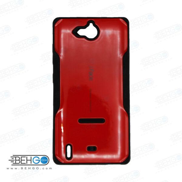 قاب آی فیس گوشی هواوی جی 740 رنگ قرمز case For Huawei G740