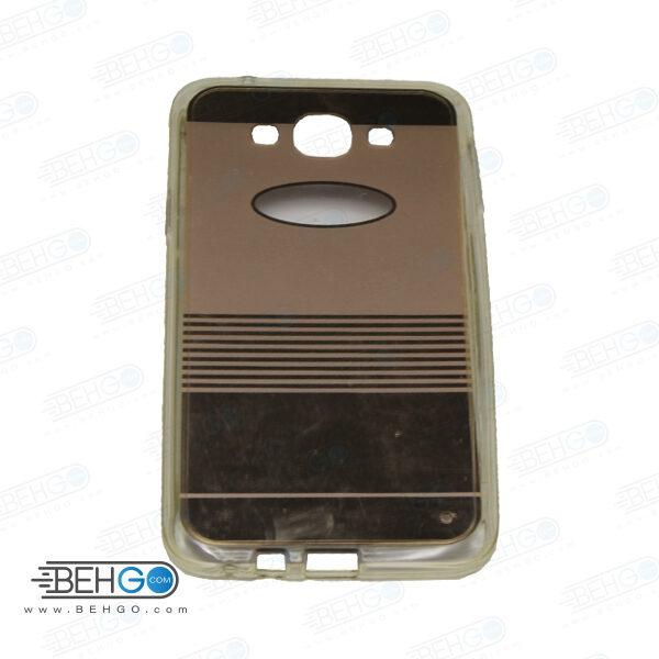 قاب طرح دار گوشی سامسونگ ای 7 E7 طرح آینه ای طلایی case For Samsung galaxy E7