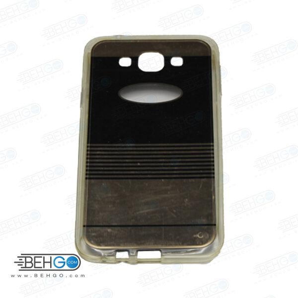قاب طرح دار گوشی سامسونگ ای 7 E7 طرح آینه ای مشکی case For Samsung galaxy E7