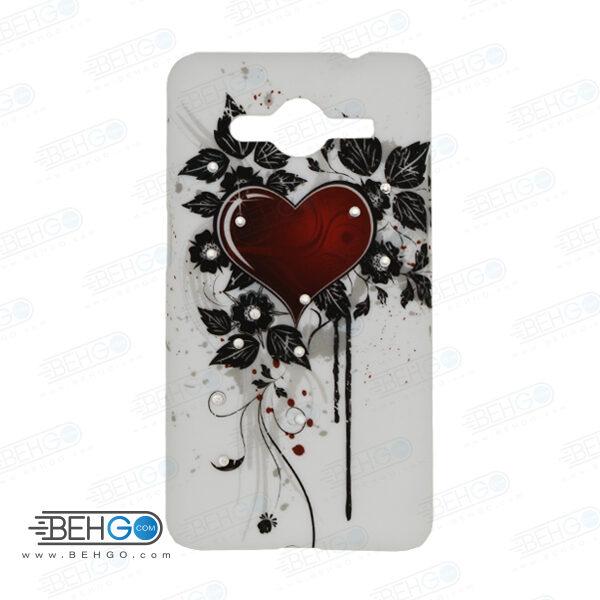 قاب طرح دار گوشی سامسونگ کور 2 Core 2 طرح قلب case For Samsung galaxy core2 G355