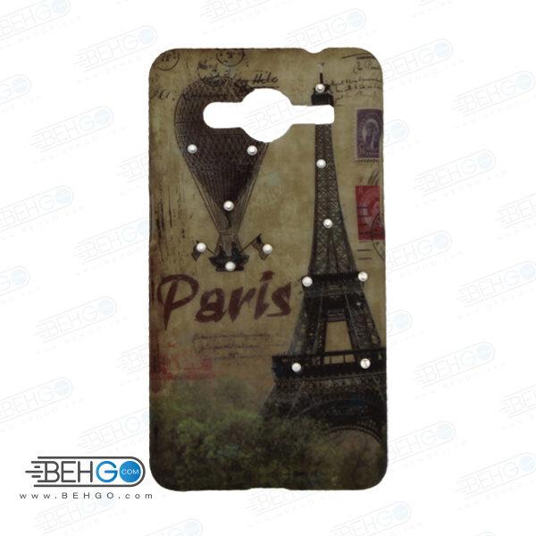 قاب طرح دار گوشی سامسونگ کور 2 Core 2 طرح پاریس case For Samsung galaxy core2 G355