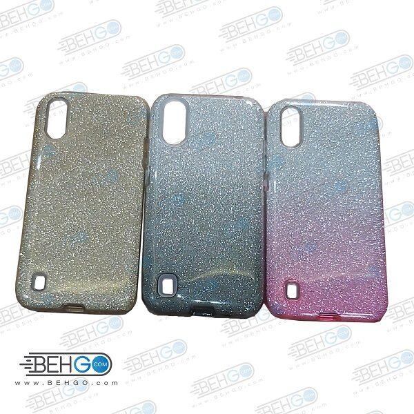 قاب گوشی سامسونگ A01 ژله ای اکلیلی اصلی A01 گارد مناسب گوشی ا01 بک کاور محافظ Alkyd Jelly Case Samsung A01
